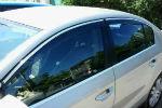 Дефлекторы окон (с молдингом) для VW Passat (B6/B7) SD 2006-2014 (AVTM, VWPAB711)