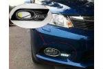 Дневные ходовые огни (ДХО) для Honda Civic HB 2012+ (AVTM, LED1235)