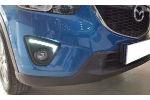 Дневные ходовые огни (ДХО) для Mazda CX-5 2012+ (AVTM, LED1350)