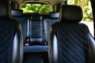 Накидки на сиденья автомобиля (передние и задние, к-кт. 5 шт.) (AVTOРИТЕТ, black)