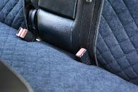 Накидки на сиденья автомобиля (задние, к-кт. 3 шт.) (AVTOРИТЕТ, black)