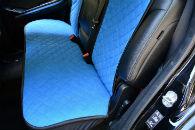 Накидки на сиденья автомобиля (передние и задние, к-кт. 5 шт.) (AVTOРИТЕТ, blue)