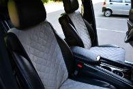 Накидки на сиденья автомобиля (передние, к-кт. 2 шт.) (AVTOРИТЕТ, grey)