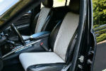Накидки на сиденья автомобиля (передние и задние, к-кт. 5 шт.) (AVTOРИТЕТ, grey)
