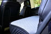 Накидки на сиденья автомобиля (задние, к-кт. 3 шт.) (AVTOРИТЕТ, grey)