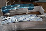 Накладки на передний и задний бамперы для Porshce Cayenne 2002 - 2010 (Kindle, DF-PC-001/002)