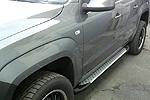 Боковые пороги Saphire V1 для Volkswagen Amarok 2010- (Can-Otomotive, VWAM.SAPHV1.47.1020)