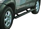 Боковые пороги Hyundai Tucson 2004- (Winbo, B133014)