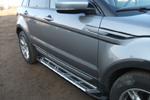 """Боковые пороги """"Saphire V2"""" Honda Pilot 2008- (Can-Otomotiv, HOPL.52.1059)"""