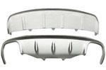 Накладки на передний и задний бамперы для Porsche Macan 2013+ (Kindle, HM-PM-B41/B42)