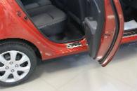 Накладки на пороги для Hyundai i10 2008-2013 (Alu-Frost, 08-0671)