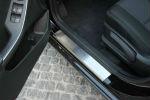 Накладки на пороги для Hyundai i30 2012+ (Alu-Frost, 08-0683)