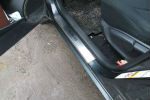 Накладки на пороги для Toyota Rav4 III 2006-2013 (Alu-Frost, 08-0717)