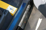 Накладки на пороги для Volkswagen Touareg I 2002-2009 (Alu-Frost, 08-0965)