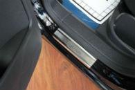 Накладки на пороги для Volkswagen Tiguan 2007+ (Alu-Frost, 08-0983)