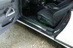 Накладки на пороги для Volkswagen Scirocco 2008+ (Alu-Frost, 08-0989)