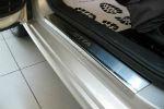 Накладки на пороги для Volkswagen Jetta VI 2011+ (Alu-Frost, 08-0996)