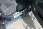 Накладки на пороги для Chevrolet Epica 2006+ (Alu-Frost, 08-1061)