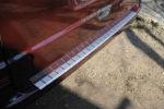 Накладка с загибом на задний бампер для Mercedes Viano/Vito (W639) 2004+ (Alu-Frost, 25-3459)