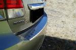 Накладка с загибом на задний бампер для Toyota Avensis III (4D) 2012+ (Alu-Frost, 25-34690)