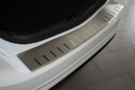 Накладка с загибом на задний бампер для Ford Mondeo IV 2007+ (Alu-Frost, 25-3476)