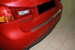 Накладка с загибом на задний бампер для Mitsubishi ASX 2010-2013 (Alu-Frost, 25-3495)