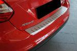 Накладка с загибом на задний бампер для Ford Focus III (5D) 2011-2014 (Alu-Frost, 25-3643)