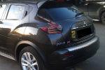 Накладка с загибом на задний бампер для Nissan Juke 2010+ (Alu-Frost, 25-3656)