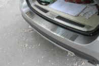 Накладка с загибом на задний бампер для Mercedes-Benz ML-Class (W164) 2005-2011 (Alu-Frost, 25-3658)