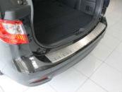 Накладка с загибом на задний бампер для Mazda 5 II 2010+ (Alu-Frost, 25-3972)