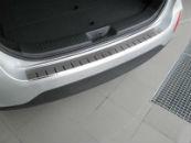 Накладка с загибом на задний бампер для KIA Sorento II (FL) 2013-2015 (Alu-Frost, 25-4003)
