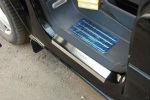 Накладки на пороги для Volkswagen Multivan 2004+ (Alu-Frost, nakl-poroga-multivan)