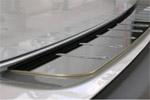 Накладка на задний бампер для Infiniti FX/EX/QX (Z62) 2008+ (BGT-PRO, BGT-995)