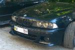 Накладки на передний М бампер для BMW 5-series (E39) 1996-2003 (LERRIUM, BL191 182-030)