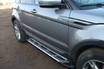 Боковые пороги Saphire V2 для Volkswagen Amarok 2010- (Can-Otomotive, VWAM.SAPHV2.47.1020)