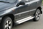 Боковые пороги Chevrolet Niva (Kindle, CHN.AL.22)