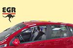 Дефлектор окон Chevrolet Aveo hb 2005- (EGR, BRAVEOSW)