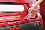 Защитная пленка на задний бампер для Volvo S40 2008- (AutoProTech, BP.VOLVS4008.RSP)