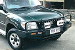 Передний бампер Toyota LC Prado 90 с дугой COMBO BAR 00 ON W/FLARES SRS (ARB, 3421050)