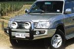 Передний бампер Toyota LC Prado 90 с дугой SAHARA BAR NO FOG (ARB, 3921030)