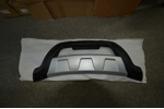 Накладки на передний и задний бампер BYD S6 2010+ (Kindle, S6-B31-B32)