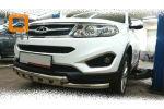 Защита переднего бампера (Shark, D60) для Chery Tiggo 2014+ (Can-Otomotiv, CYTI.33.0065)