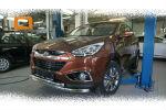 Защита переднего бампера (двойная, D60) для Hyundai IX-35 2009-2015 (Can-Otomotiv, HYIX.33.1243)
