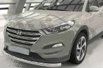 Защита переднего бампера (одинарная, D60) для Hyundai Tucson 2015+ (Can-Otomotiv, HYTU.33.1503)