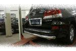 Защита заднего бампера (одинарная, D76) для Lexus LX570 2014+ (Can-Otomotiv, LE57.55.1575)