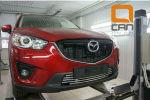 Решетка переднего бампера для Mazda CX-5 2012+ (Can-Otomotiv, MAC5.27.0118)