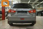 Защита заднего бампера (одинарная, D60) для Mitsubishi ASX 2012+ (Can-Otomotiv, MIAS.55.6020)