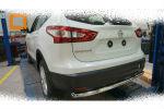 Защита заднего бампера (одинарная, D60) для Nissan Qashqai 2014+ (Can-Otomotiv, NIQA.57.2083)