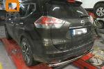 Защита заднего бампера (одинарная, D60) для Nissan X-Trail 2014+ (Can-Otomotiv, NIXT.57.2169)