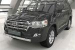 Защита переднего бампера (одинарная овал, D7X/42) для Toyota Land Cruiser 200 2012-2015 (Can-Otomotiv, TOC2.33.1202)